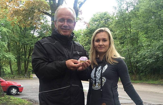 Na Cmetarzu Garnizonowym z doktorem Szwagrzykiem