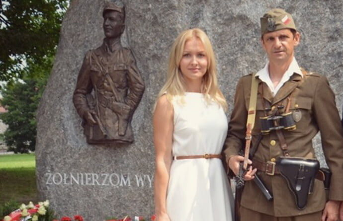 Odsłonięcie Pomnika Żołnierzy Wyklętych w Gdańsku