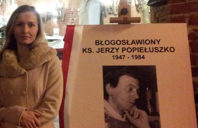 Wystawa poświęcona ks. J. Popiełuszce
